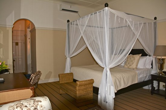 The Victoria Falls Hotel: Our room #1