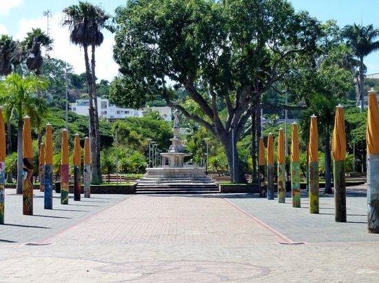 Place des Cocotiers : Park area