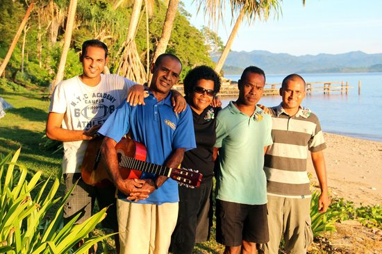 The Remote Resort - Fiji Islands: The gorgeous staff