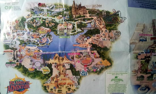 List of Synonyms and Antonyms of the Word islands of adventure map