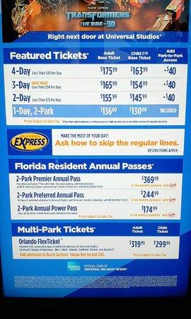 Adventure Island Ticket Price