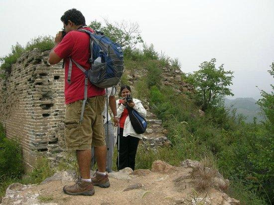 Beijing Impression Tours : wild wall walking