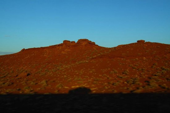 Moenkopi Legacy Inn & Suites : The Painted Desert (to and from the Moenkopi, sunset)