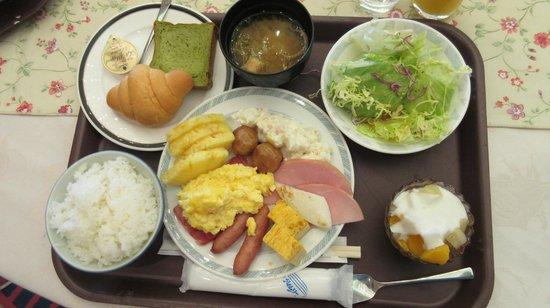 Kesennuma Plaza Hotel: Breakfast