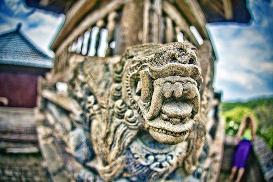 Uluwatu cliff temple pura luhur bali indonesia