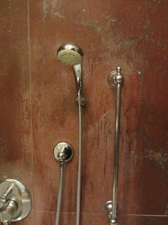 The Westin Excelsior, Rome: VERY VERY OLD SHOWER.