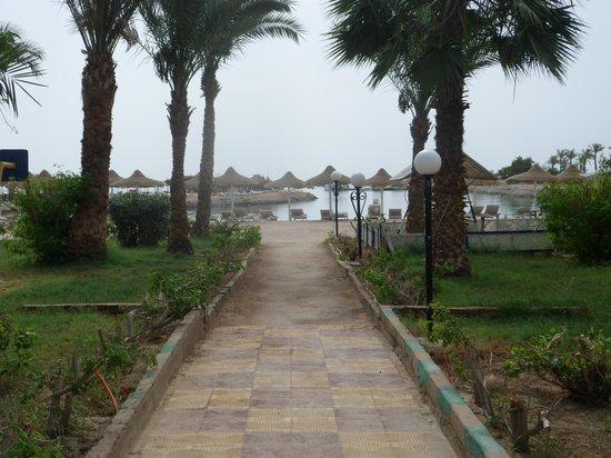 El Samaka Beach Hotel: с бассейна на пляж