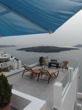 Villa Renos: Balcony view