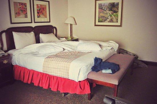 Bishop Creekside Inn : Large Room + Large Bed
