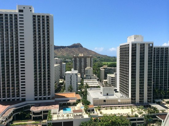 'Alohilani Resort Waikiki Beach: ラナイからの風景
