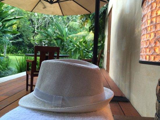 Four Seasons Resort Bali at Sayan : living area