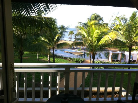Outrigger Mauritius Beach Resort : View from the balcony