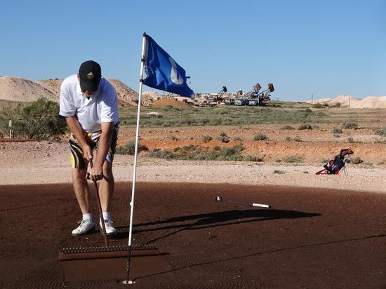 Coober Pedy Opal Fields Golf Course