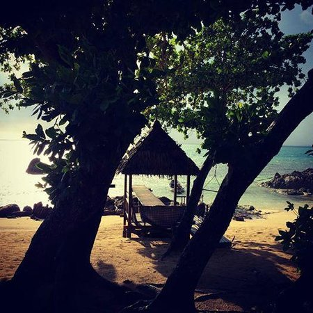 Koh Munnork Private Island Resort by Epikurean Lifestyle : view from beachfront bungalow