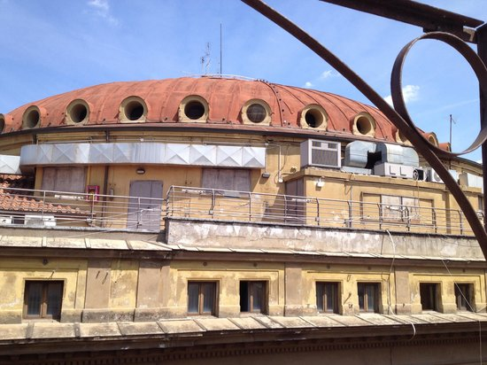 Hotel Centro Roma: View of Opera House from our balcony