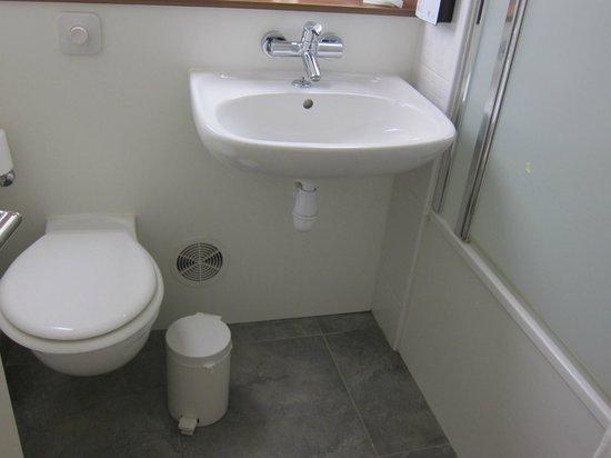 Campanile Lyon Ouest Tassin : カンパニール リヨン タッシン・・・洗面・トイレ