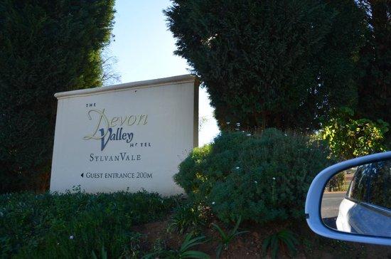 Devon Valley Hotel: On Route