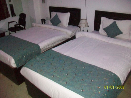 Hotel Taj Galaxy: twin room