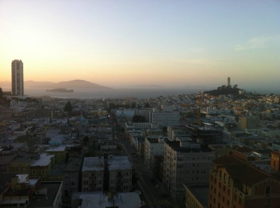 Fairmont San Francisco: View from my room