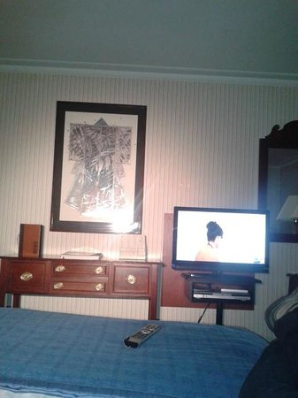 Eurostars Montgomery: Vista desde la cama