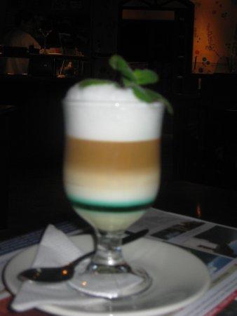 Cafe del Cielo: out of focus but lovely desert