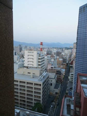 ANA Crowne Plaza Hiroshima : View from the room