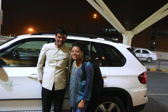 The Leela Palace New Delhi: Best Driver, Naresha!