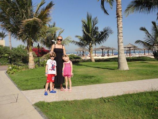 Hilton Al Hamra Beach & Golf Resort : garden