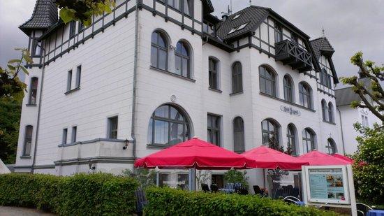 Hotel Asgard: Von der Seeseite gesehen