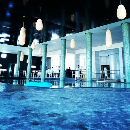 Cramim Resort & Spa by Isrotel Exclusive Collection : roofed swimming pool