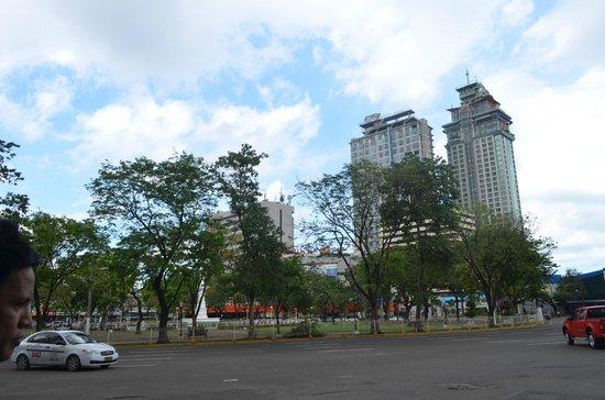 Verbena Hotel: Fuente Osmena Circle