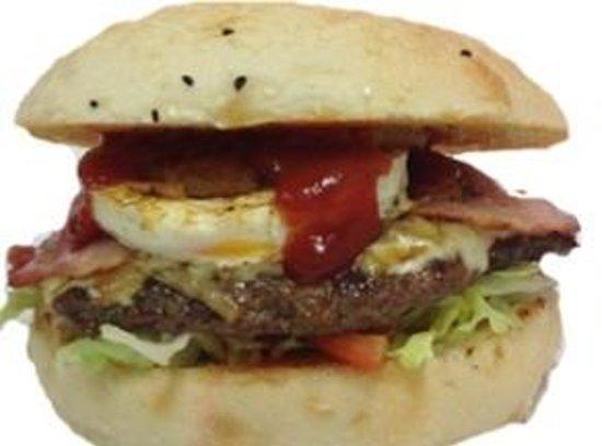 Tasty's Souvlaki and No.1 Burgers: No 1 Burger