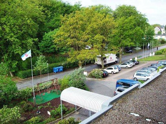 Hotel Asgard: Blick zur Dünenstraße