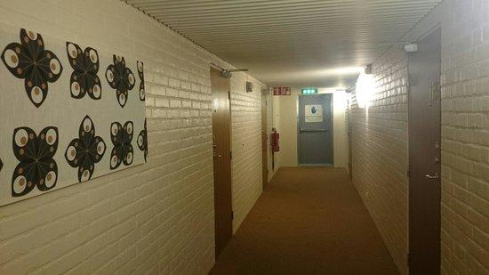First Hotel Jorgen Kock: Trist korridor