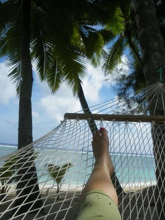Sunhaven Beach Bungalows: Aaahhhh relaxing!