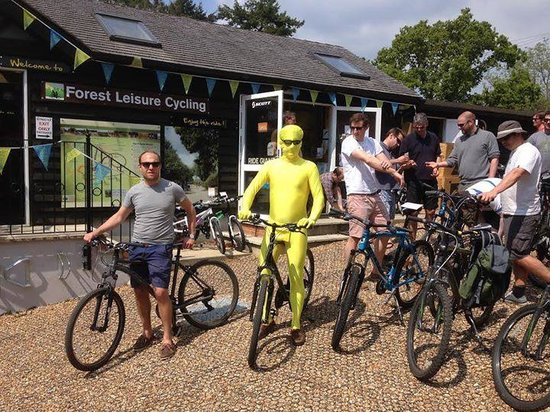 Forest Leisure Cycling: Our Morph Stag Party