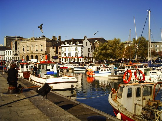 the harbour Barbican