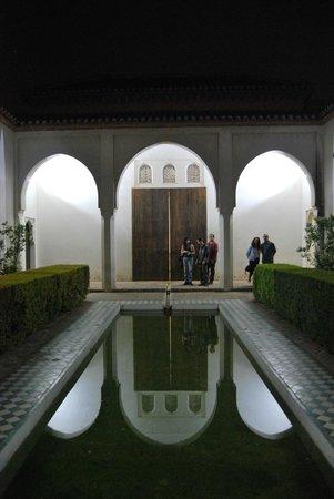 Alcazaba (fort) : Patio de la Alberca