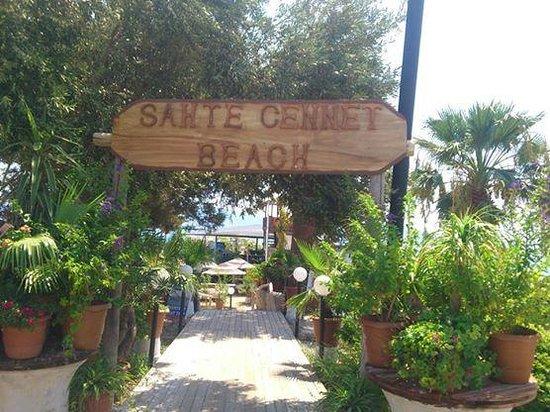 Didim, Turkey: sahte cennet beach club girişi