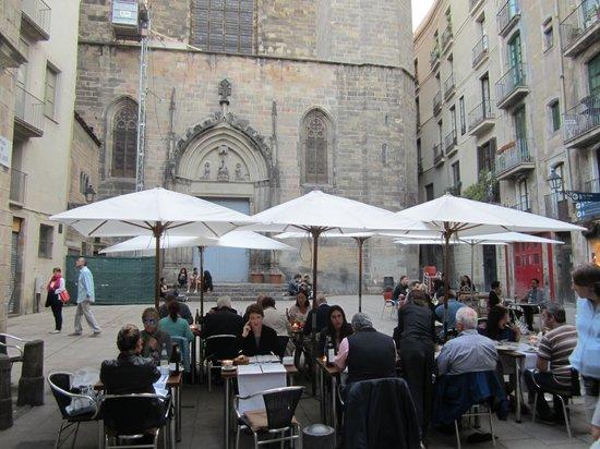 Cafe De L'Academia : Outdoor dining