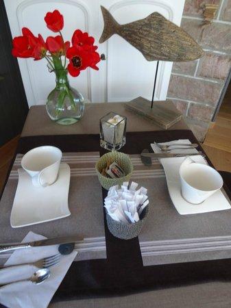 Hotel Beausejour : petit déjeuner