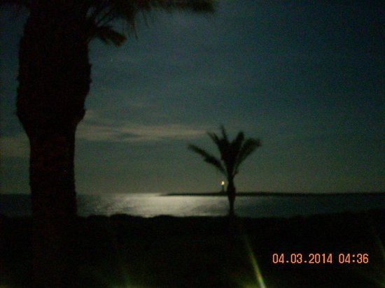Insotel Punta Prima Resort & Spa: View on an evening from hotel room 4804