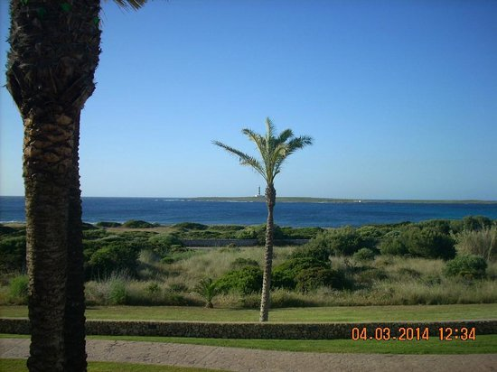 Insotel Punta Prima Resort & Spa: room view on the first morning