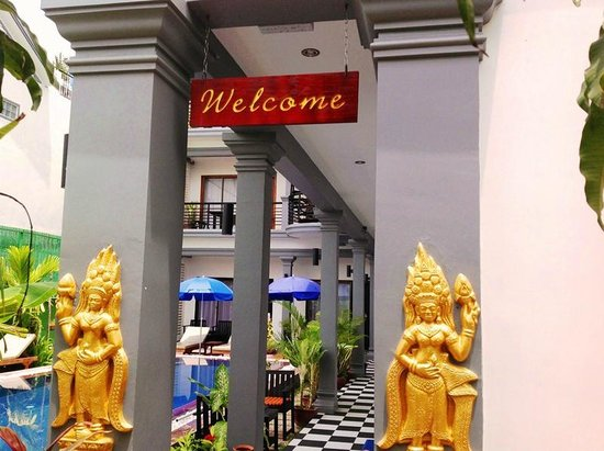 Asanak D'Angkor Boutique Hotel: Welcome