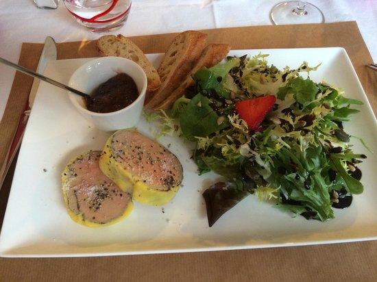 Athanor: Foie gras excellent !