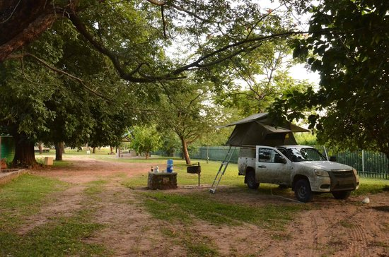 Victoria Falls Rest Camp & Lodges: campsite