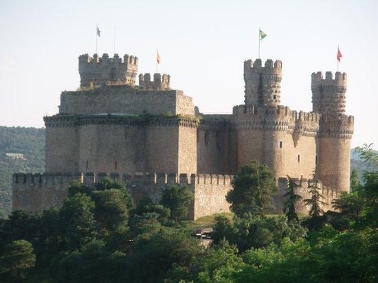 Castillo de los Mendoza (Castillo nuevo de Manzanares El Real): Castillo de Manzanares el Real