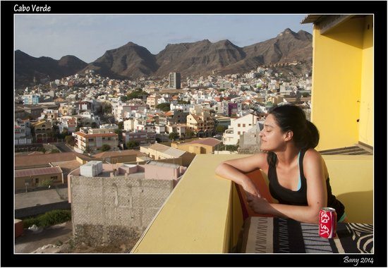 Residencial Alto Fortim : Mindelo from the terrace
