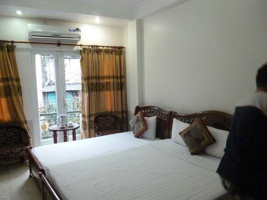 Hanoi Harmony Hotel: Так выглядит номер:)))