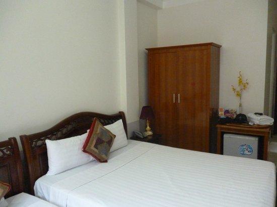 Hanoi Harmony Hotel: Так выглядит номер